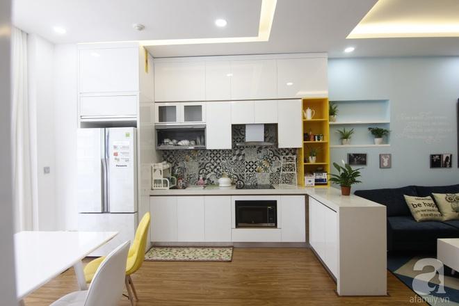 Căn hộ 75m² với điểm nhấn nghệ thuật từ ánh sáng có chi phí rẻ đến bất ngờ ở Hoàng Mai, Hà Nội - Ảnh 6.