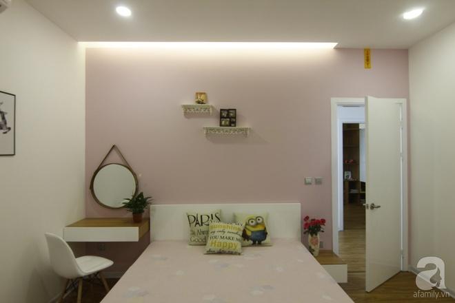 Căn hộ 75m² với điểm nhấn nghệ thuật từ ánh sáng có chi phí rẻ đến bất ngờ ở Hoàng Mai, Hà Nội - Ảnh 8.
