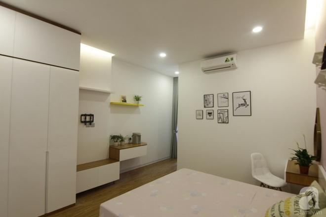 Căn hộ 75m² với điểm nhấn nghệ thuật từ ánh sáng có chi phí rẻ đến bất ngờ ở Hoàng Mai, Hà Nội - Ảnh 9.