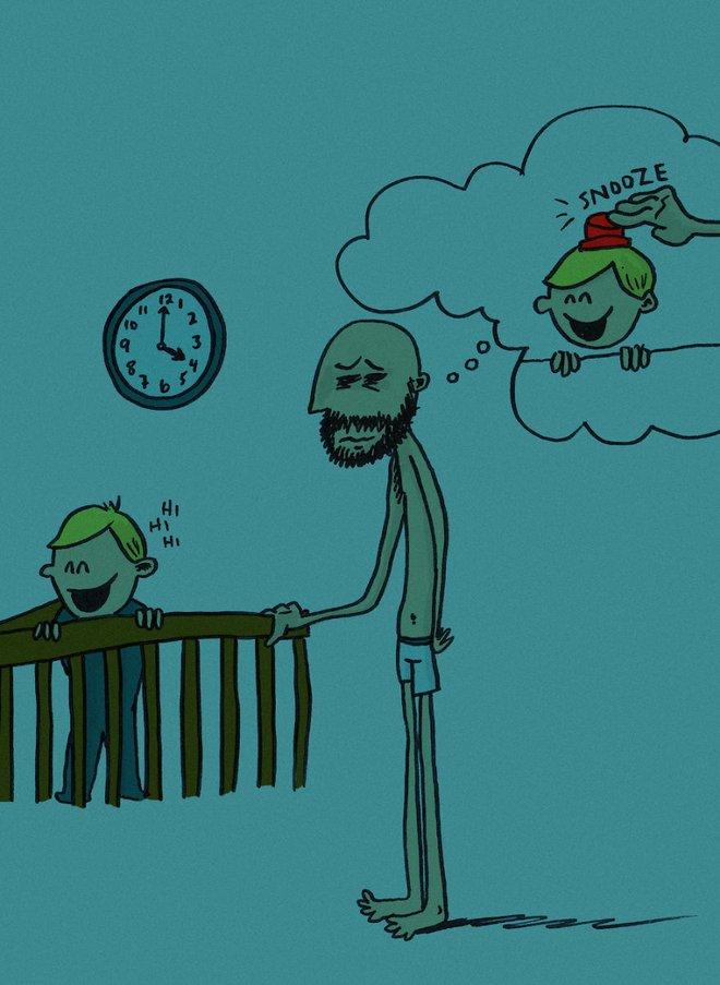 Ông bố dũng cảm phác họa lại những tình huống hài hước khi ở nhà chăm con - Ảnh 6.