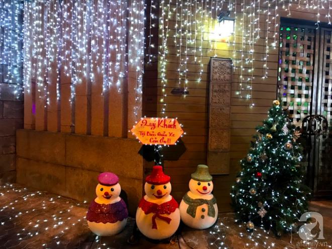 Ngắm biệt thự triệu đô của Đàm Vĩnh Hưng được trang trí đẹp lung linh đón Noel về - Ảnh 5.