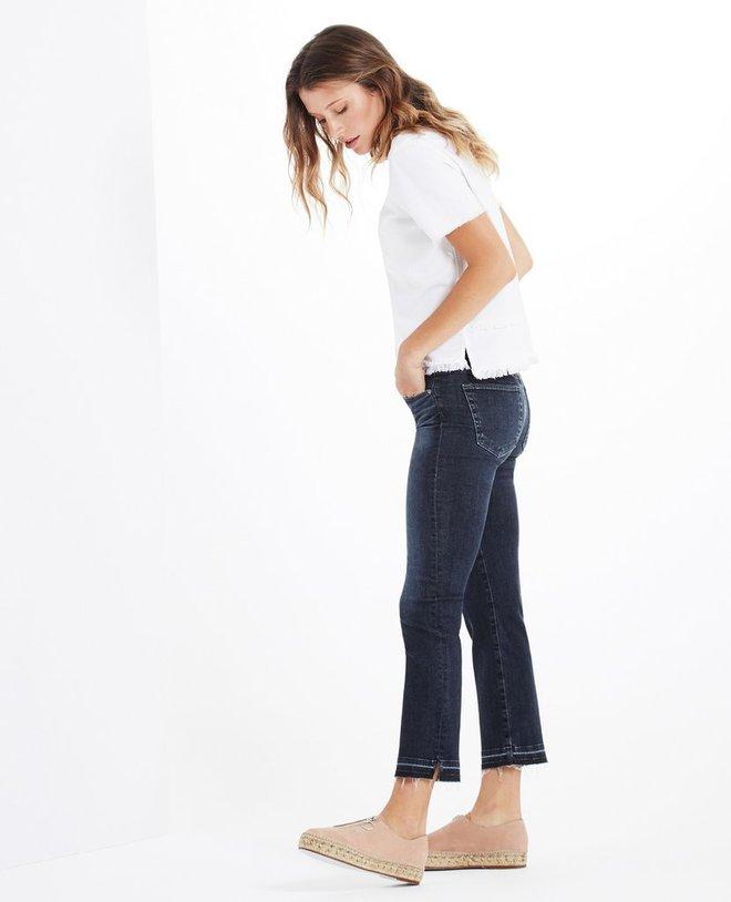 Muốn mặc quần jeans nhưng lại ngại chân ngắn, bạn cứ mua 7 kiểu quần này - Ảnh 1.