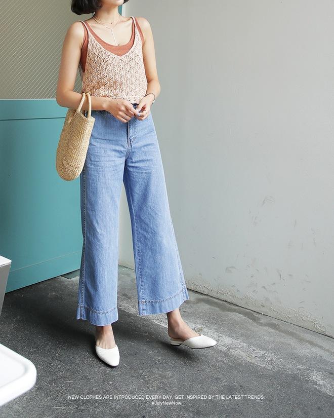 Muốn mặc quần jeans nhưng lại ngại chân ngắn, bạn cứ mua 7 kiểu quần này - Ảnh 4.