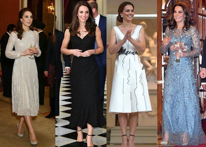Tổng kết năm 2017, Công nương Kate đã chi khoảng 3.5 tỷ đồng mua sắm quần áo - Ảnh 1.