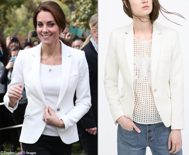 Từ năm ngoái đến năm nay mà set đồ của Công nương Kate vẫn giống y chang nhau - Ảnh 11.
