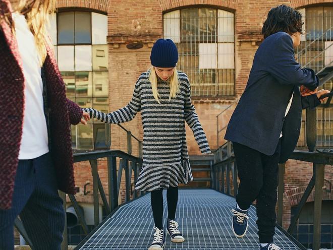 Gợi ý trang phục Thu/Đông cho các bé với loạt lookbook mới nhất của Zara, H&M và Mango - Ảnh 9.