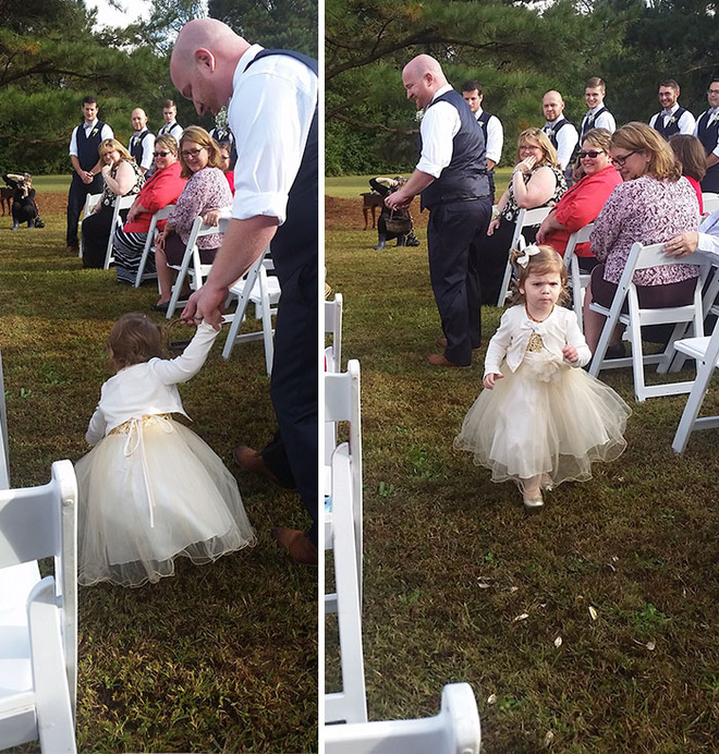 Khi người lớn cứ hào hứng như được mùa, những em bé này lại cảm thấy đám cưới như là một thảm họa vậy - Ảnh 17.