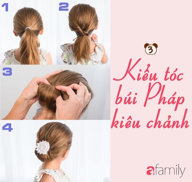 """Mách mẹ 12 kiểu tóc cho bé gái đảm bảo mỗi sáng """"con xinh xúng xính, mẹ kịp giờ làm"""" - Ảnh 3."""
