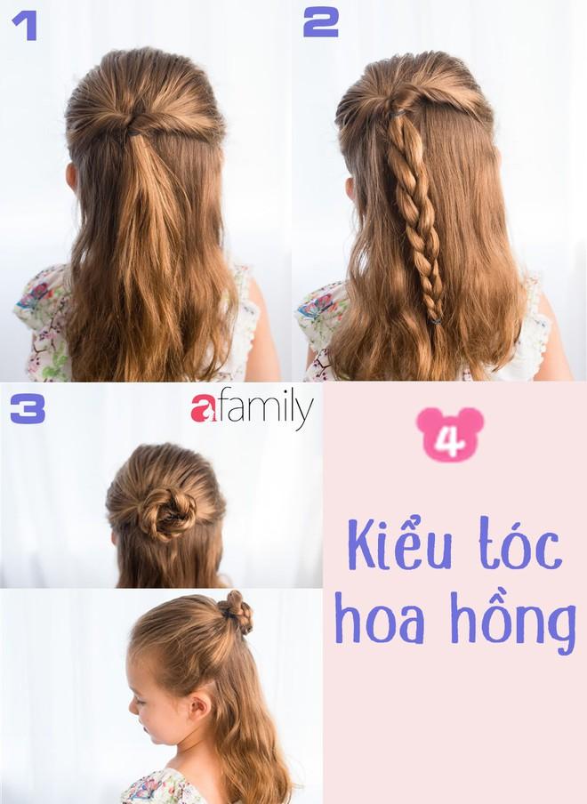 """Mách mẹ 12 kiểu tóc cho bé gái đảm bảo mỗi sáng """"con xinh xúng xính, mẹ kịp giờ làm"""" - Ảnh 4."""