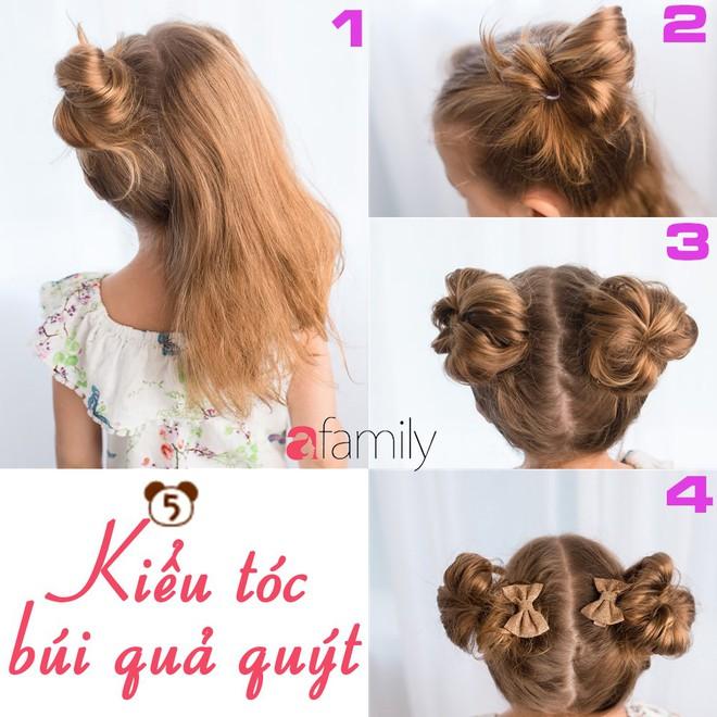 """Mách mẹ 12 kiểu tóc cho bé gái đảm bảo mỗi sáng """"con xinh xúng xính, mẹ kịp giờ làm"""" - Ảnh 5."""