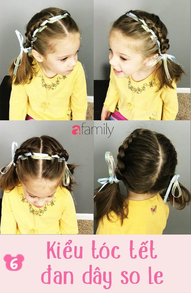 """Mách mẹ 12 kiểu tóc cho bé gái đảm bảo mỗi sáng """"con xinh xúng xính, mẹ kịp giờ làm"""" - Ảnh 6."""