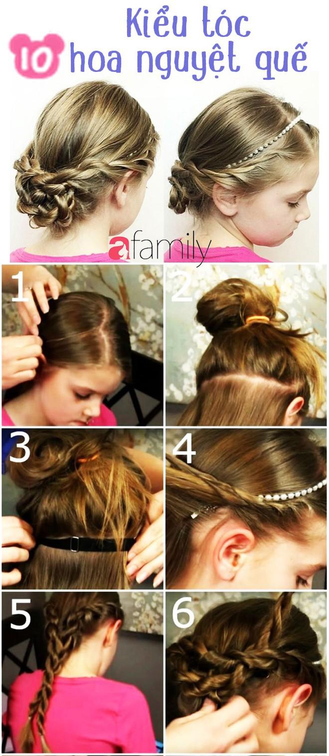"""Mách mẹ 12 kiểu tóc cho bé gái đảm bảo mỗi sáng """"con xinh xúng xính, mẹ kịp giờ làm"""" - Ảnh 10."""