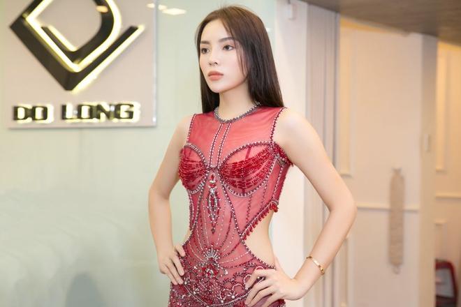 Thí sinh Miss Grand International diện đầm của NTK Đỗ Long, đụng hàng với nàng thơ Kỳ Duyên tại phần thi Trang phục dạ hội - Ảnh 5.
