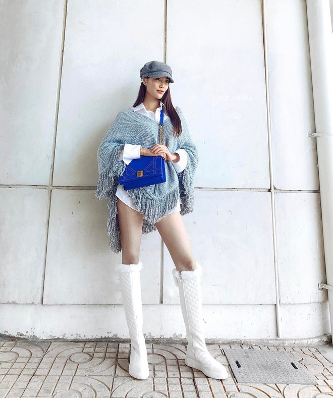 Lấn át hết mọi loại khác, boots cao đến đầu gối trở thành món đồ được diện nhiều nhất trong mùa đông năm nay - Ảnh 3.
