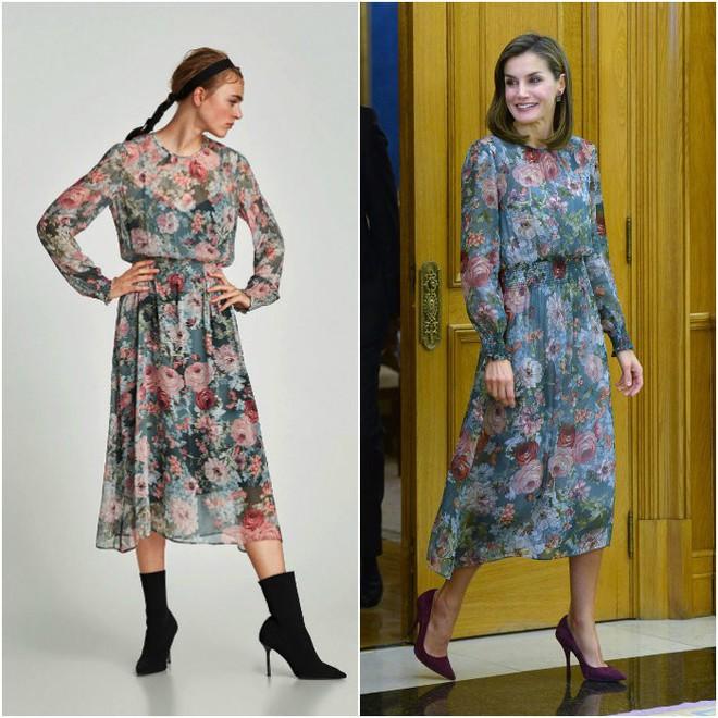 Đây là 4 thiết kế của Zara được Letizia - Hoàng hậu Tây Ban Nha diện đẹp nhất trong năm 2017 - Ảnh 12.