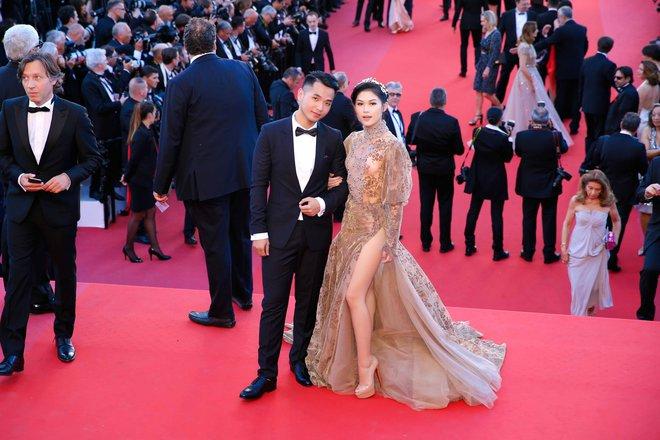 Hồng Ánh, Ngọc Thanh Tâm xuất hiện rực rỡ tại LHP Cannes 2017 - Ảnh 5.