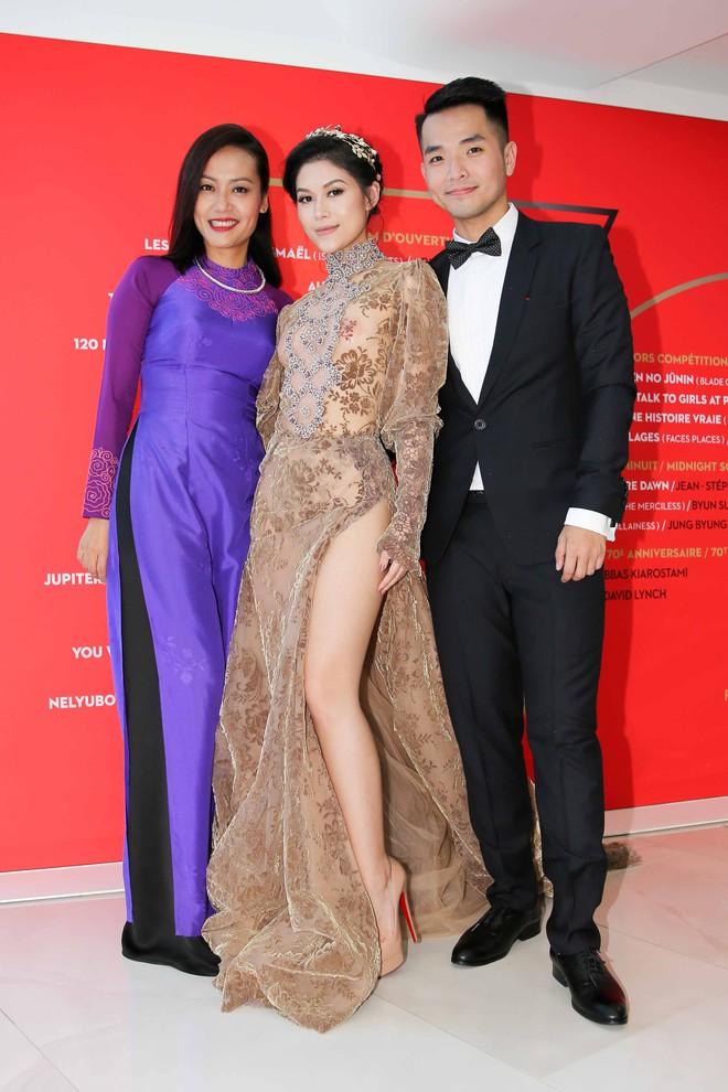 Hồng Ánh, Ngọc Thanh Tâm xuất hiện rực rỡ tại LHP Cannes 2017 - Ảnh 7.