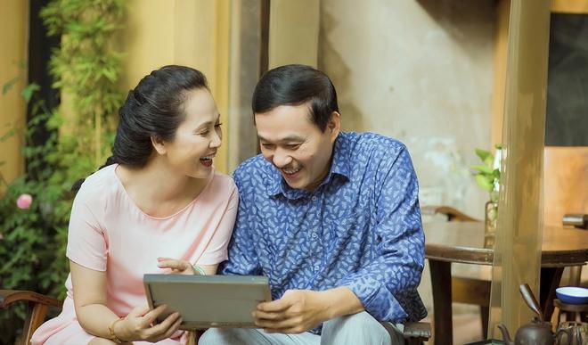 Vợ chồng nghệ sĩ Lan Hương & Đỗ Kỷ: Cuộc hôn nhân 30 năm gói gọn trong hai chữ Bình yên - Ảnh 6.