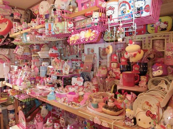 Bộ sưu tập Hello Kitty khổng lồ của cụ ông 67 tuổi khiến hội chị em cũng phải choáng - Ảnh 3.