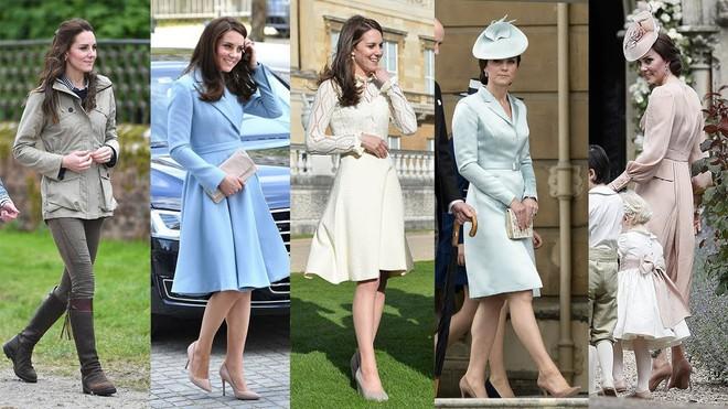 Tổng kết năm 2017, Công nương Kate đã chi 3.5 tỷ đồng mua sắm quần áo - Ảnh 1.