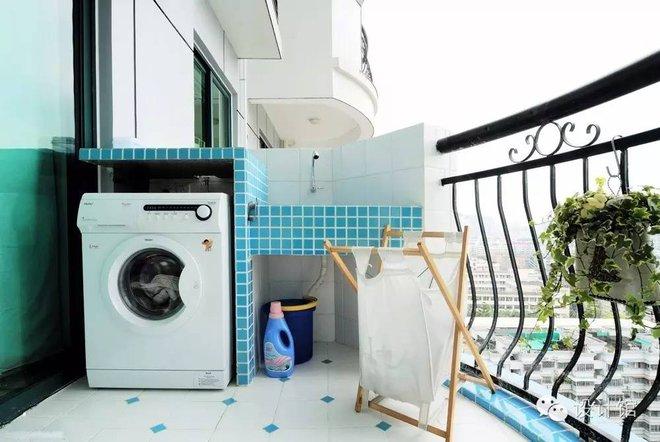 Ban công - vị trí vàng để bố trí máy giặt cho nhà chật - Ảnh 6.
