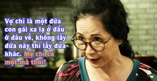 """Đây là 6 bà mẹ chồng của màn ảnh Việt khiến ai nấy đều hoảng hồn vì những """"mưu thâm kế độc"""" hành hạ con dâu - Ảnh 1."""