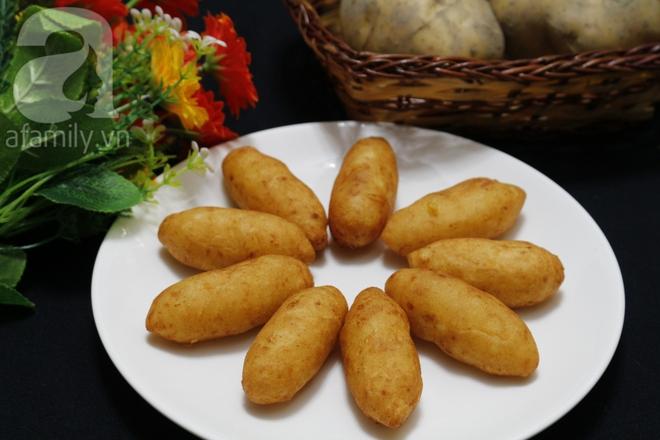 Khoai tây kén - món ăn vặt vạn người mê - Ảnh 7.