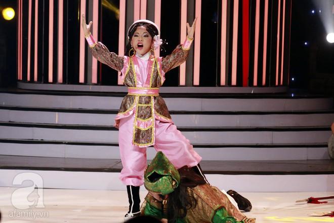 Vượt mặt con gái Trang Nhung, ốc mỡ Thụy Bình xuất sắc giành ngôi vị quán quân Gương mặt thân quen nhí 2017 - ảnh 11