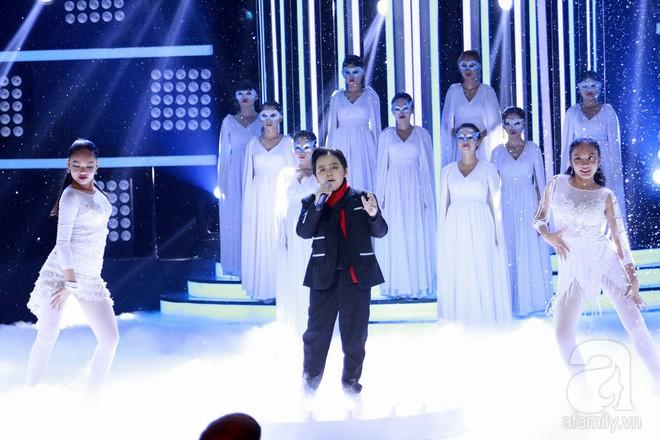 Vượt mặt con gái Trang Nhung, ốc mỡ Thụy Bình xuất sắc giành ngôi vị quán quân Gương mặt thân quen nhí 2017 - ảnh 4