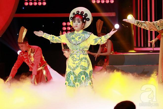 Vượt mặt con gái Trang Nhung, ốc mỡ Thụy Bình xuất sắc giành ngôi vị quán quân Gương mặt thân quen nhí 2017 - ảnh 13