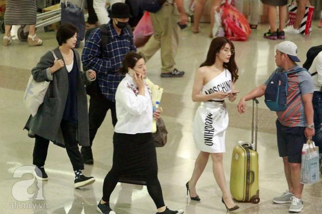 Quá nhanh quá nguy hiểm, So Ji Sub rời sân bay trong chớp nhoáng - Ảnh 3.