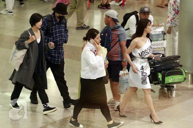 Quá nhanh quá nguy hiểm, So Ji Sub rời sân bay trong chớp nhoáng - Ảnh 4.
