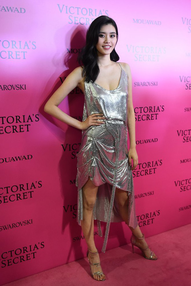 Mỹ nhân Tình người duyên ma khoe thân hình đồng hồ cát trên thảm hồng Victoria's Secret 2017 - Ảnh 3.