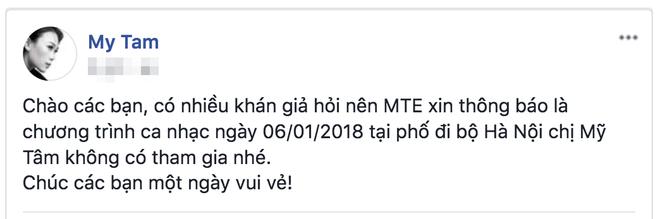 Xôn xao nghi án Mỹ Tâm hủy show ca nhạc vì đứng sau Sơn Tùng M-TP trên poster - Ảnh 2.