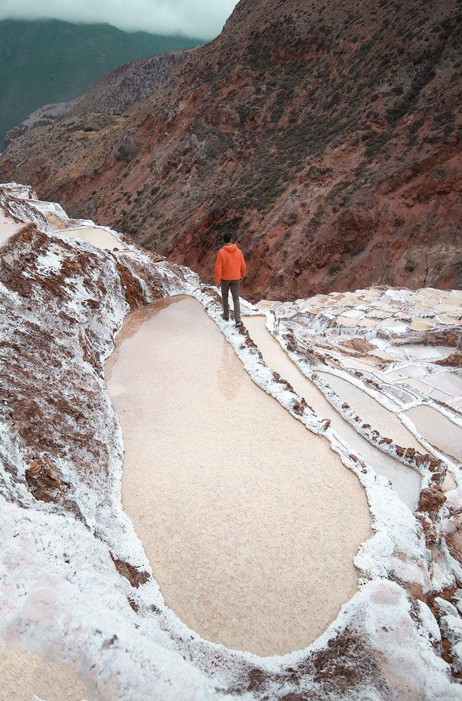 Có một cánh đồng muối kỳ lạ ở lưng chừng đồi núi cao hơn 3000m - Ảnh 6.