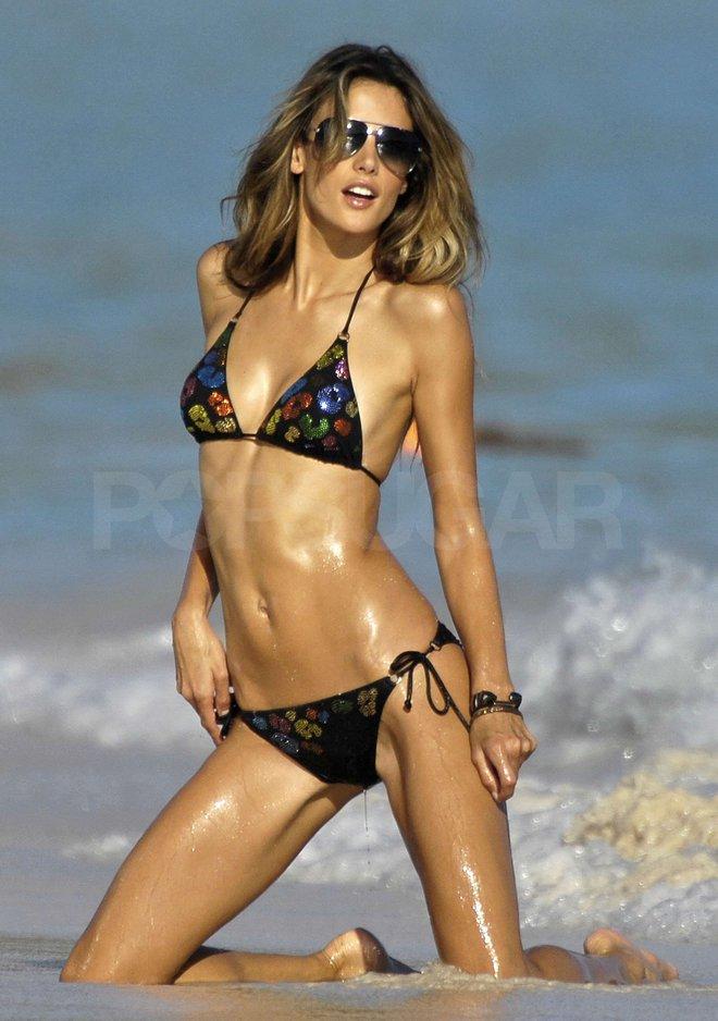 Alessandra Ambrosio: Chị đại của Victorias Secret đã sở hữu mông căng tròn, sexy mà không lo to đùi nhờ bí quyết này - Ảnh 3.