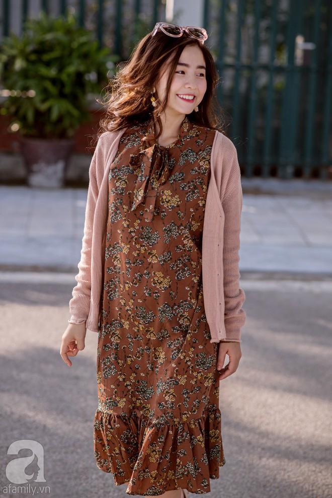 Chuyển lạnh một cái, là street style của các quý cô miền Bắc lại ngập tràn các loại áo len và áo khoác - Ảnh 1.