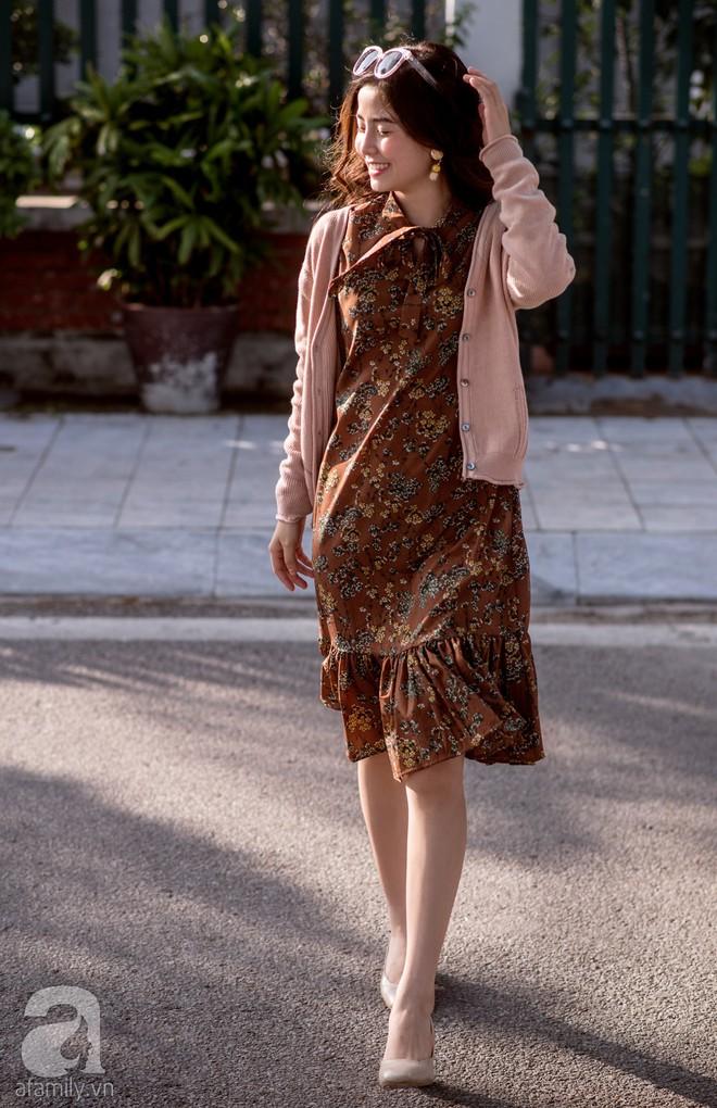 Chuyển lạnh một cái, là street style của các quý cô miền Bắc lại ngập tràn các loại áo len và áo khoác - Ảnh 2.