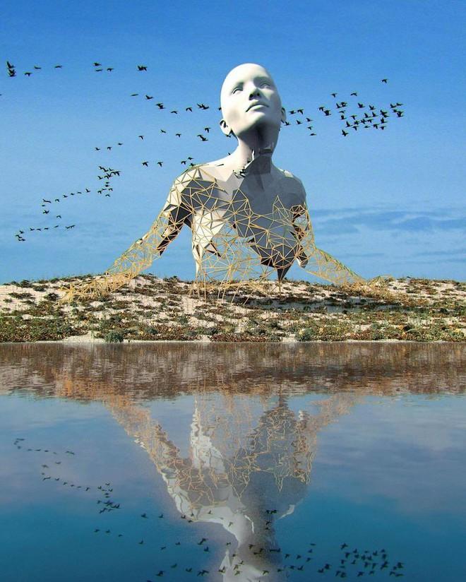 Những tác phẩm điêu khắc kỳ lạ khiến bạn không tin nổi vào mắt mình - Ảnh 15.