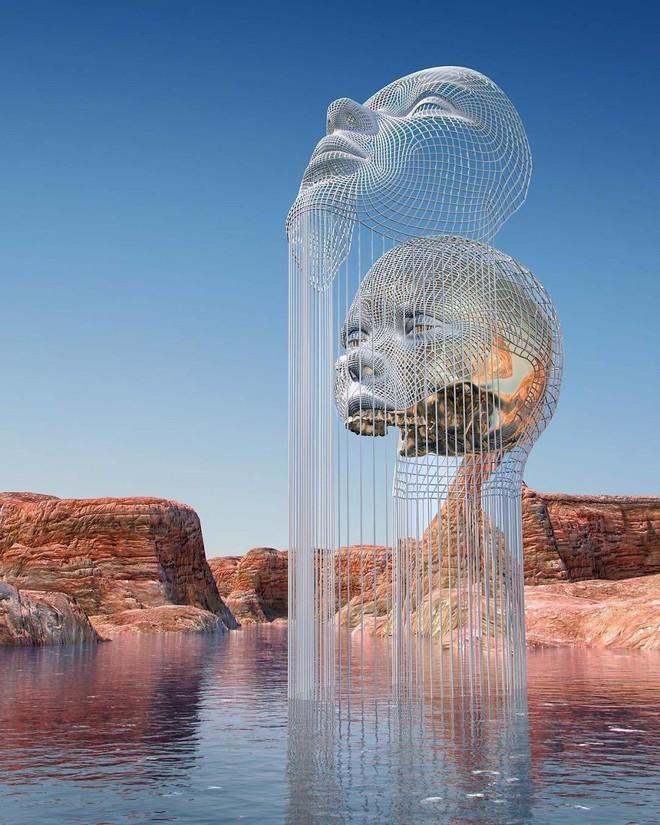 Những tác phẩm điêu khắc kỳ lạ khiến bạn không tin nổi vào mắt mình - Ảnh 14.