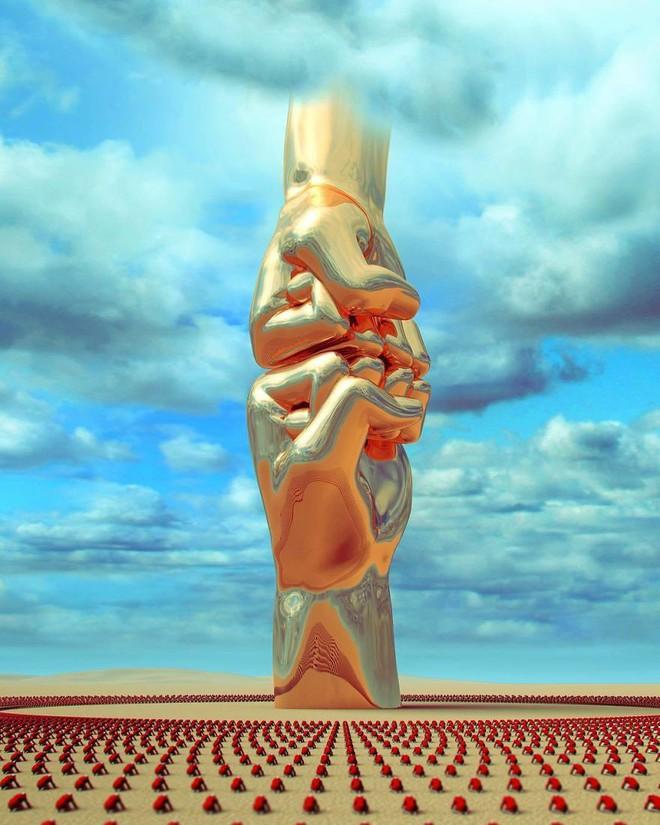 Những tác phẩm điêu khắc kỳ lạ khiến bạn không tin nổi vào mắt mình - Ảnh 13.
