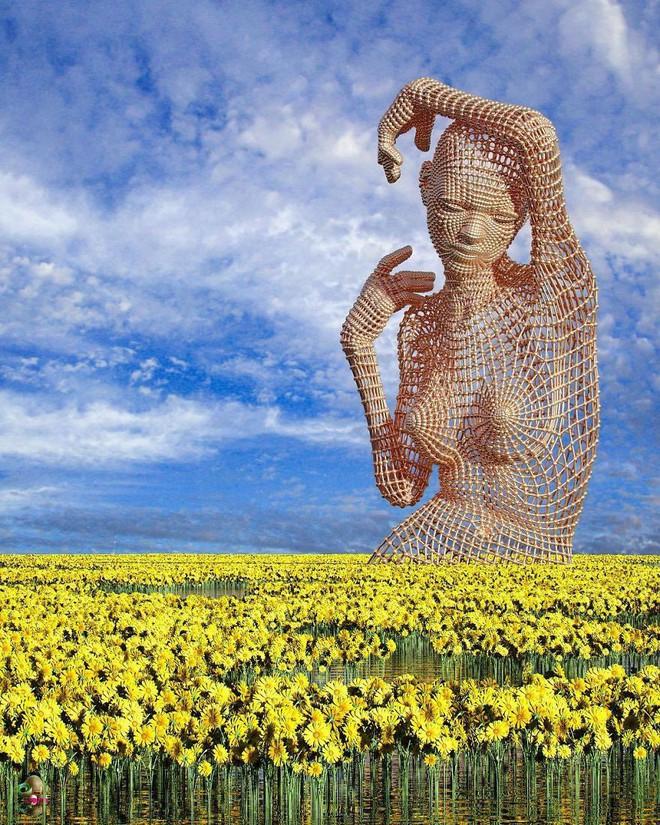 Những tác phẩm điêu khắc kỳ lạ khiến bạn không tin nổi vào mắt mình - Ảnh 11.