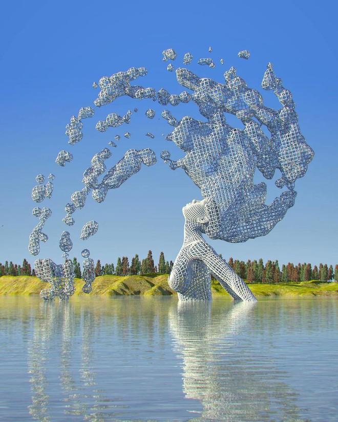 Những tác phẩm điêu khắc kỳ lạ khiến bạn không tin nổi vào mắt mình - Ảnh 7.