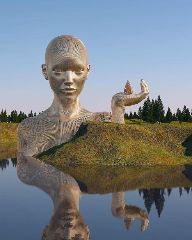 Những tác phẩm điêu khắc kỳ lạ khiến bạn không tin nổi vào mắt mình - Ảnh 4.