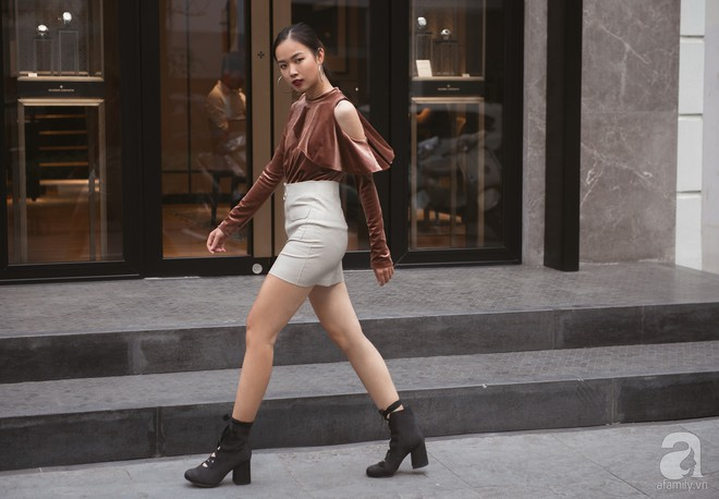 Chuyển lạnh một cái, là street style của các quý cô miền Bắc lại ngập tràn các loại áo len và áo khoác - Ảnh 8.