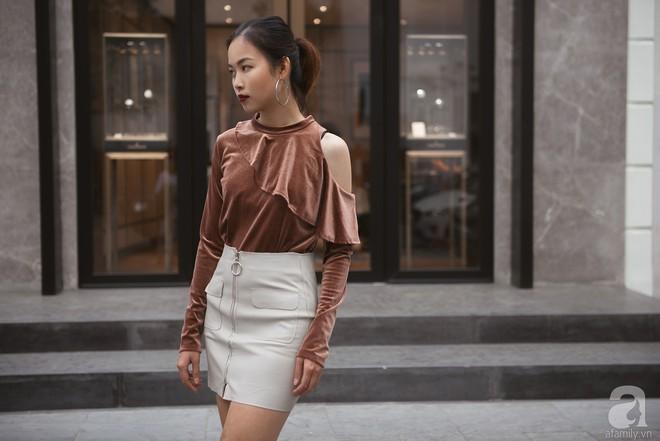 Chuyển lạnh một cái, là street style của các quý cô miền Bắc lại ngập tràn các loại áo len và áo khoác - Ảnh 9.