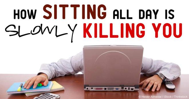 5 cách để đảo ngược tác hại của việc ngồi lỳ nhiều giờ bên bàn làm việc - Ảnh 1.