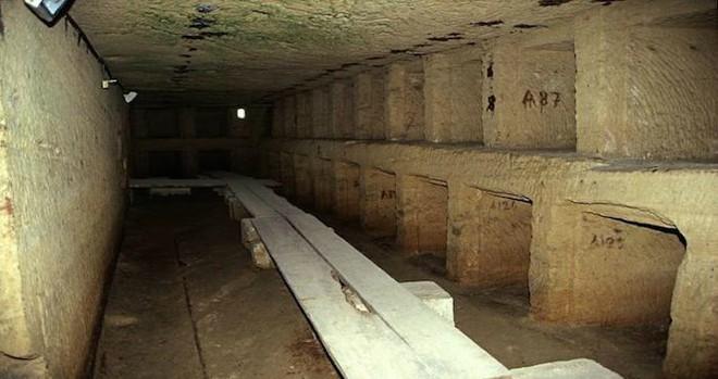 Phát hiện khu hầm mộ đồ sộ nghìn năm một cách tình cờ nhờ công của một con lừa - Ảnh 2.