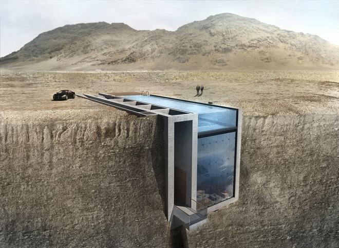 Những ngôi nhà kỳ lạ khéo lẩn trốn giữa thiên nhiên khiến bạn dễ bị đánh lừa - Ảnh 19.