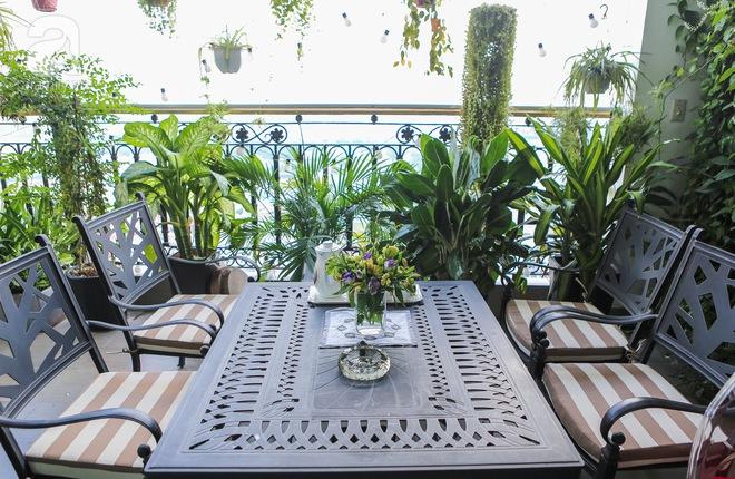 Căn hộ penthouse 300m² với hướng nhìn ra sông Hồng tuyệt đẹp của nữ giám đốc thời  trang - Ảnh 18.